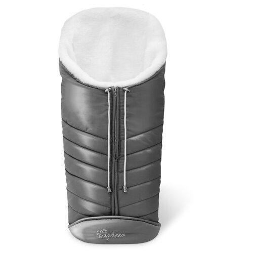 Купить Конверт-мешок Esspero Cosy White 90 см grey, Конверты и спальные мешки