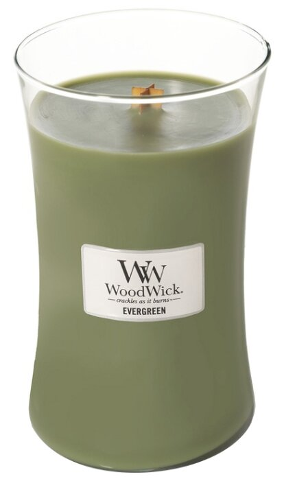Свеча WoodWick Evergreen (93142), большая