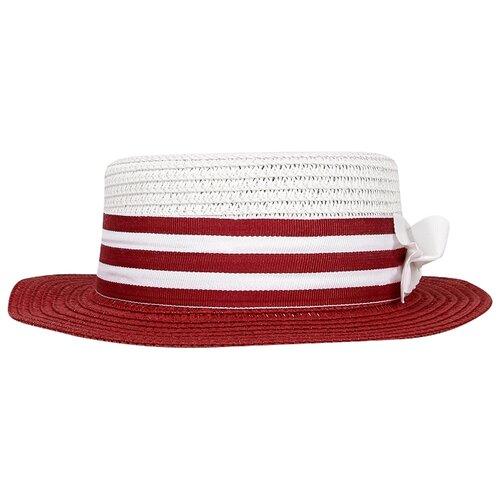 Купить Шляпа Mayoral размер 56, красный/белый, Головные уборы