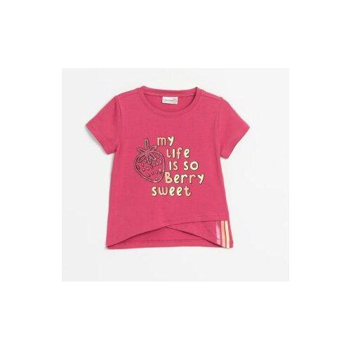 Футболка COCCODRILLO размер 110, розовый футболка coccodrillo coccodrillo mp002xg00hvs