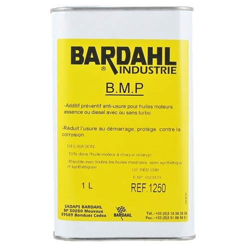 Bardahl BMP 1 л bardahl treatment essense benzine additief 0 475 л