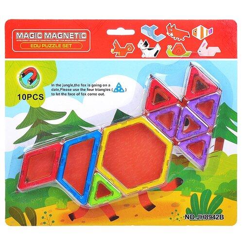 Купить Магнитный конструктор Наша игрушка Magic Magnetic JH8942B, Конструкторы
