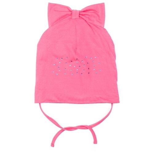 Купить Шапка playToday размер 48, розовый, Головные уборы