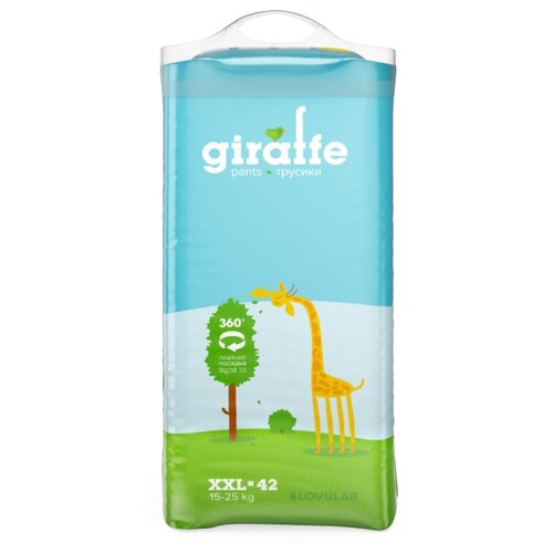 LOVULAR трусики Giraffe XXL (15-25 кг) 42 шт.
