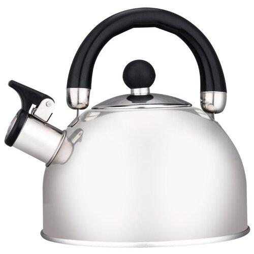 HITT Чайник со свистком Standard 2.5 л, серебристый