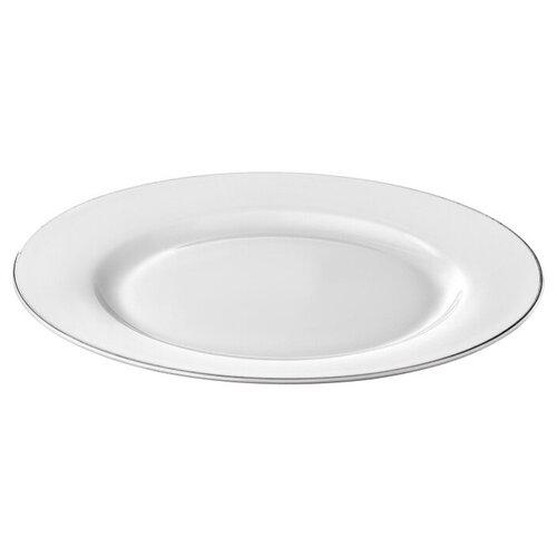 Тарелка десертная Esprado Alpino 20,5 см, костяной фарфор, набор 6 шт., ALP020WE301