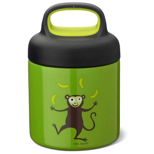 Carl Oscar Термос для еды LunchJar™ Monkey 0.3л лайм