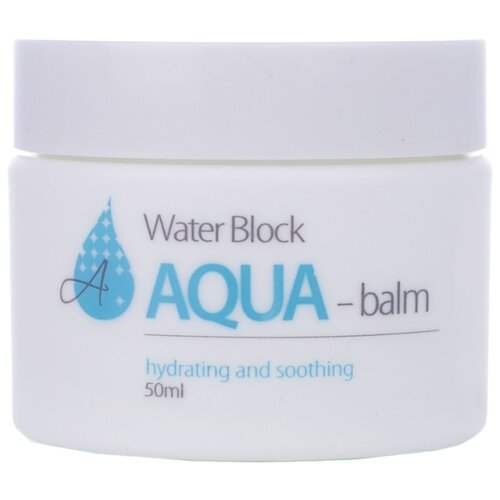 The Skin House Water Block Aqua Balm Увлажняющий аква-бальзам для лица, 50 мл the skin house зеленая глиняная маска для сужения пор pore tightening clay pack 100 мл