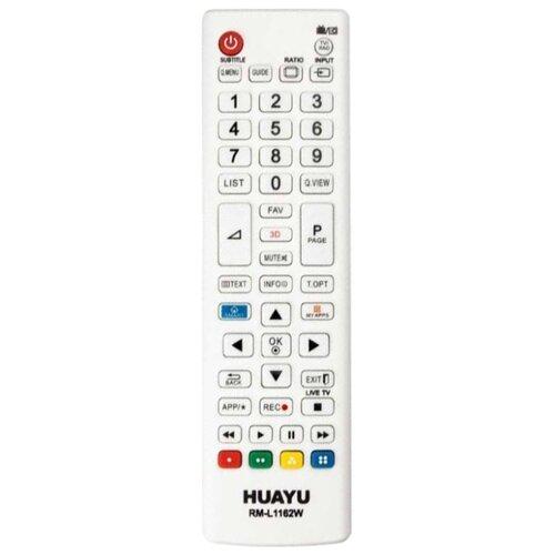 Пульт ДУ Huayu RM-L1162 для телевизоров LG белый
