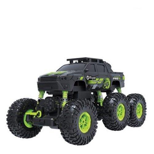 Купить Внедорожник Пламенный мотор Краулер Штурм (870427) 28 см черный/зеленый, Радиоуправляемые игрушки