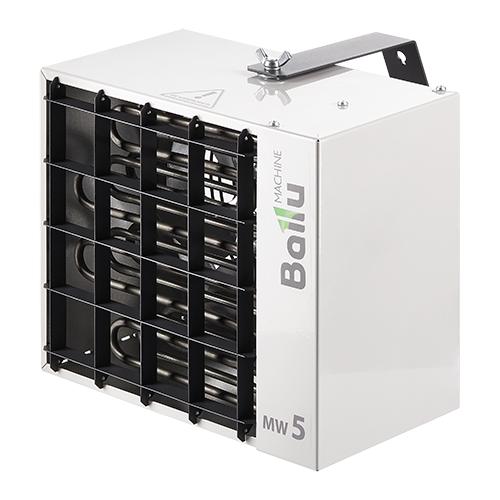 Тепловентилятор Ballu BHP-MW-5 серый алюминиевый