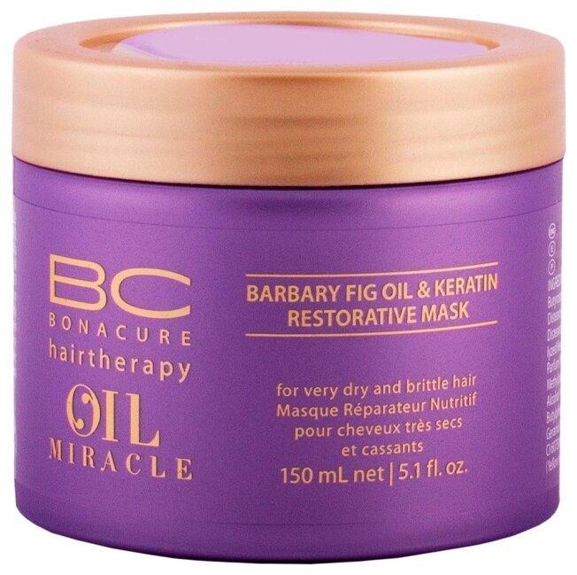 BC Bonacure Oil Miracle Barbary Fig Oil & Keratin Восстанавливающая маска для волос