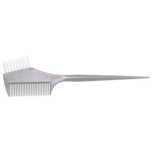 Купить DEWAL Кисть для окрашивания волос с расческой JPP049-1 серый 45 мм