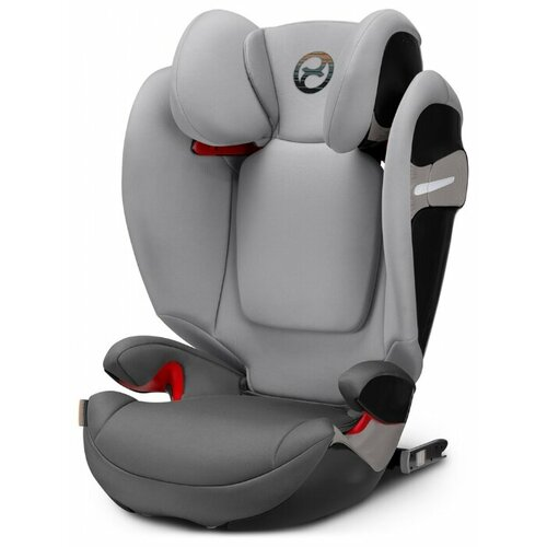 Автокресло группа 2/3 (15-36 кг) Cybex Solution S-Fix, Manhattan grey child car safety seat cybex solution m fix sl 2 3 15 36 kg 3 up to 12 years isofix chair baby car seat kidstravel group 2 3