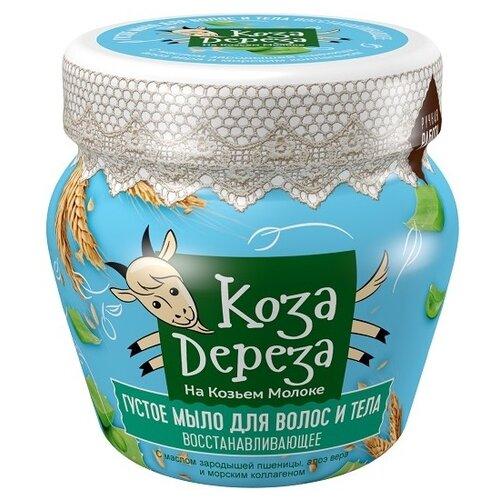 Купить Густое мыло для волос и тела Fito косметик Коза Дереза Восстанавливающее, 175 мл