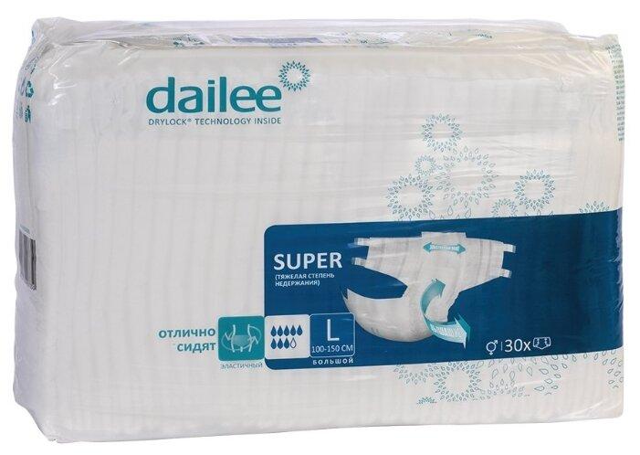 Подгузники для взрослых DAILEE Super (30 шт.)