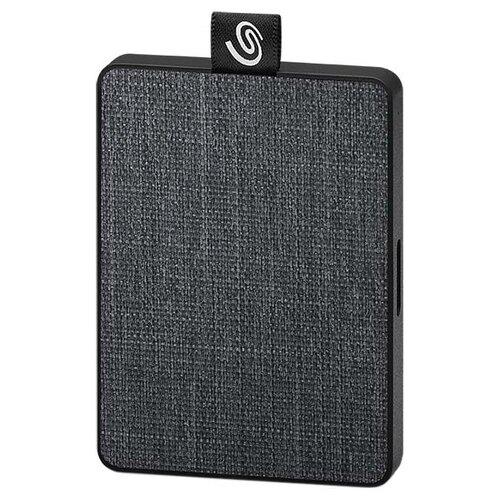 Фото - Внешний SSD Seagate One Touch 1 ТБ черный накопитель на жестком магнитном диске seagate внешний твердотельный накопитель seagate one touch ssd stje1000402 1тб 2 5 usb 3 0 white