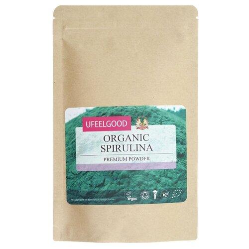 UFEELGOOD Спирулина органическая молотая, пакет 200 г