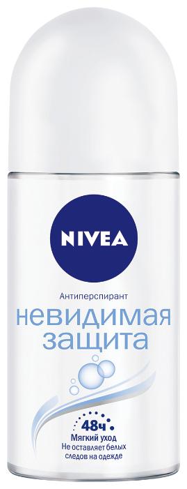 Nivea антиперспирант, ролик, Невидимая защита