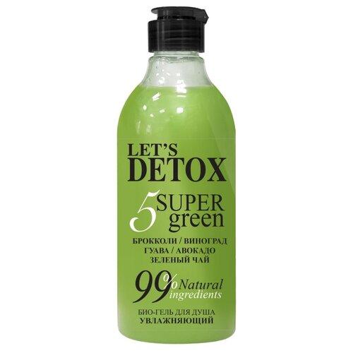 Гель для душа Body Boom Let's Detox 5 Super green, 380 мл