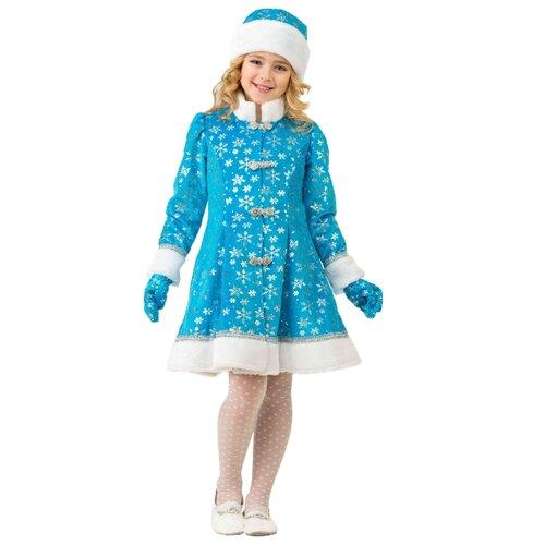 Купить Костюм Батик Снегурочка (181/181-1), голубой, размер 134, Карнавальные костюмы