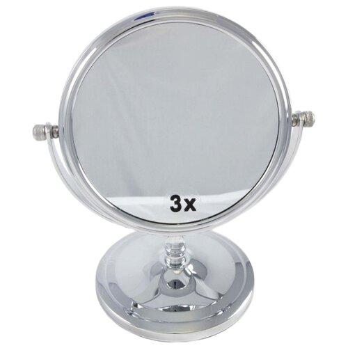 Зеркало косметическое настольное Unistor Impression хромированный