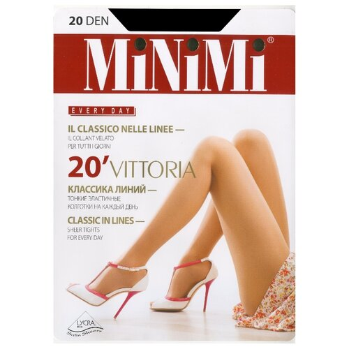 Колготки MiNiMi Vittoria 20 den daino 1/2-S (MiNiMi)Колготки и чулки<br>