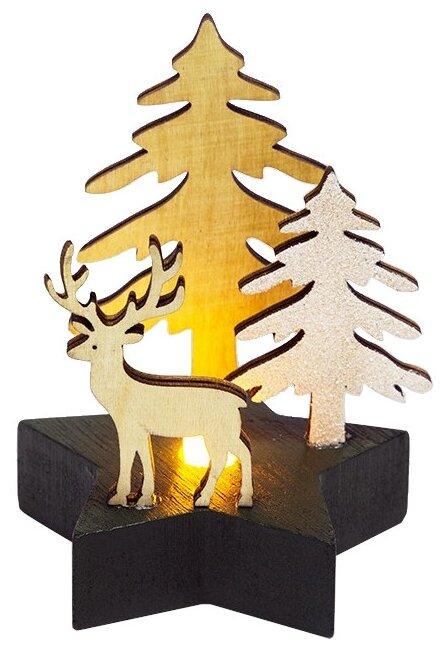 Фигурка NEON-NIGHT Олень в лесу