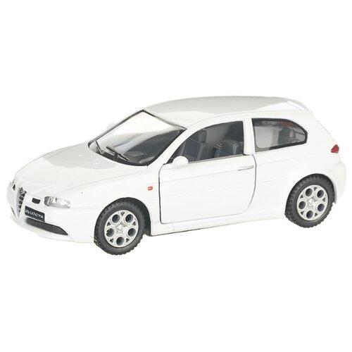 Купить Детская инерционная металлическая машинка с открывающимися дверями, модель Alfa Romeo 147 GTA, белый, Serinity Toys, Машинки и техника