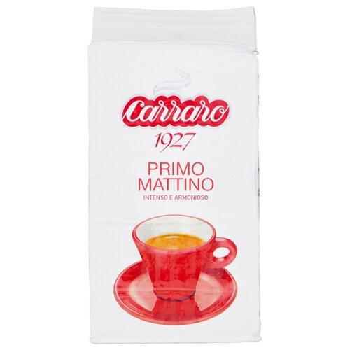 Фото - Кофе молотый Carraro Primo Mattino, 250 г кофе молотый carraro india 250 г