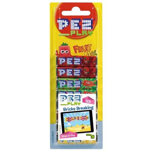 Конфета PEZ фруктовый набор 68 г игрушка с конфетами pez вкус ассорти 70 г