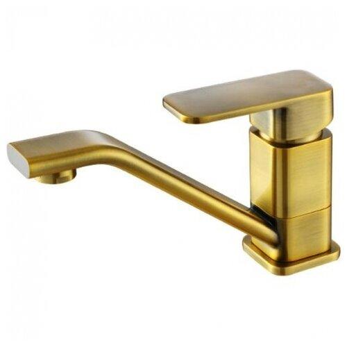 Фото - Смеситель для кухни (мойки) KAISER Sonat 34010-1 brass antique однорычажный смеситель для кухни мойки kaiser sonat 34044 5 однорычажный