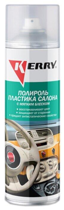 KERRY Полироль пластика для салона автомобиля KR-906-1 лимон, 0.65 л