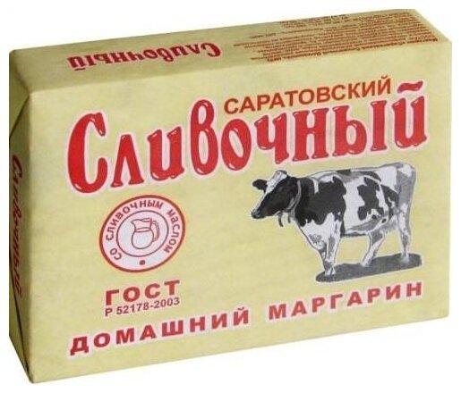 Саратовский Маргарин Саратовский сливочный 60%, 180 г