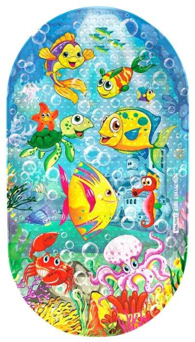 Коврик для ванной Valiant Подводное царство
