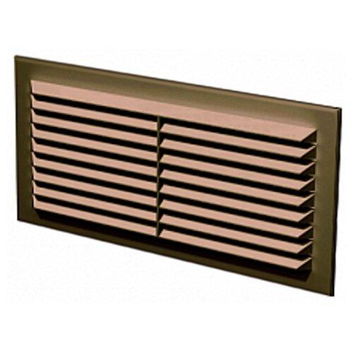 Вентиляционная решетка ERA 1708С 81 x 171 мм коричневая