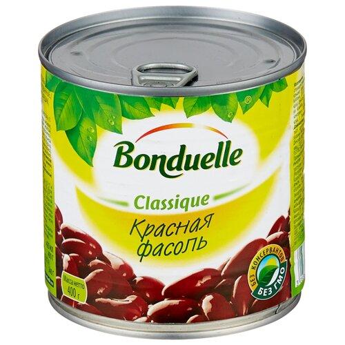 Фасоль Bonduelle Classique красная, жестяная банка 400 г зеленый горошек bonduelle classique нежный стеклянная банка 530 г