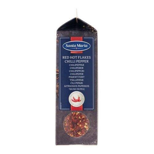 Santa Maria Пряность Чили перец острый хлопья, 295 г santa maria пряность черный перец грубого помола 460 г