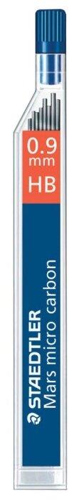 Staedtler Грифели для механических карандашей Mars micro HB, 0.9 мм, 12 шт.