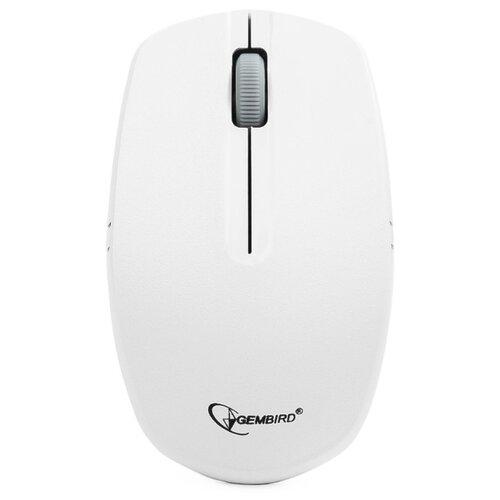 Фото - Беспроводная мышь Gembird MUSW-207W White USB белый мышь gembird musw 400 g gold usb