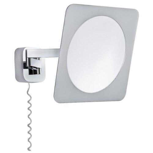 цена на Зеркало косметическое настенное Paulmann светильник Bela 70468 с подсветкой хром/белый/зеркало