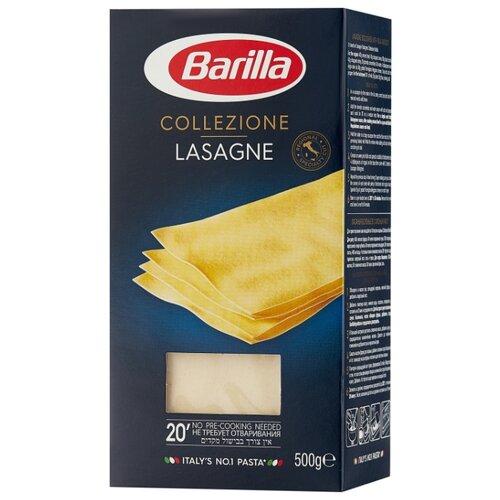 Barilla Лазанья Collezione Lasagne, 500 г соус barilla napoletana 400 г