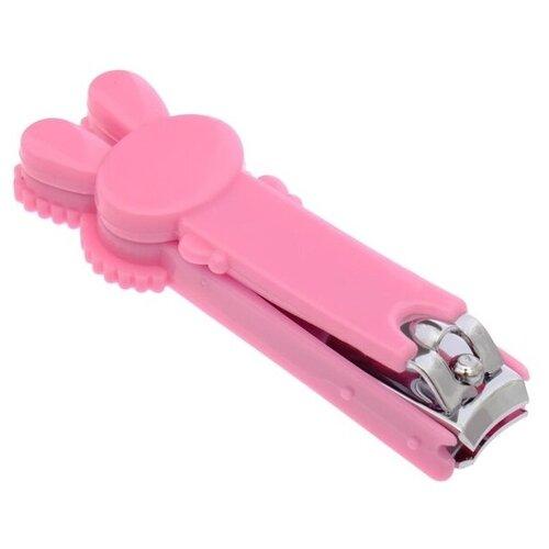 Купить Крошка Я Кусачки-книпсер для ногтей маникюрные Зайка 2849320/2849321 розовый, Маникюрные принадлежности