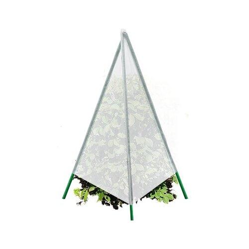 Защитный чехол Blumen Haus конус с металлическими стойками Ø40*80 cм (65001), белый