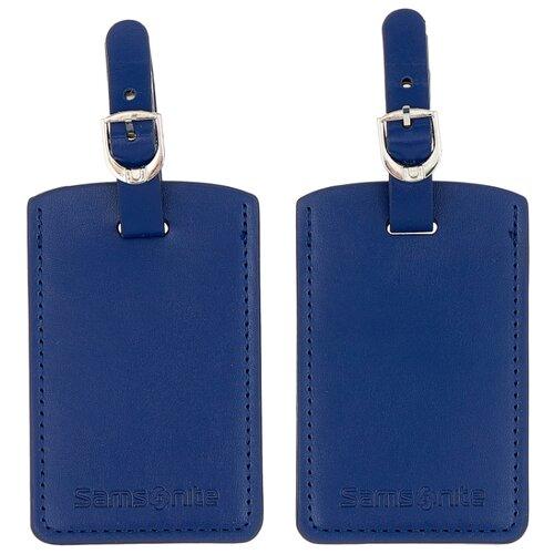 цена Бирка для багажа Samsonite CO1-90051/06051/11051/09051/00051, синий онлайн в 2017 году