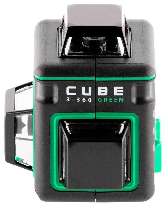 Лазерный уровень самовыравнивающийся ADA instruments CUBE 3-360 GREEN HOME EDITION (А00566)