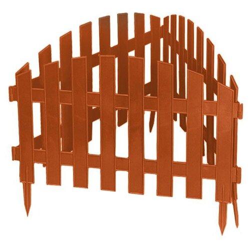 Забор декоративный PALISAD Винтаж, терракот, 3 х 0.28 м забор декоративный винтаж 28 х 300 см терракот россия palisad