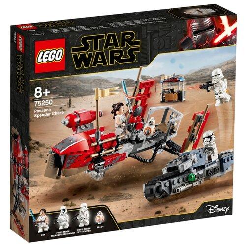 Фото - Конструктор LEGO Star Wars 75250 Погоня на спидерах конструктор lego jurassic world погоня за птеранодоном 75926
