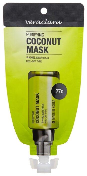 Veraclara маска-пленка Purifying Coconut Mask с экстрактом кокоса