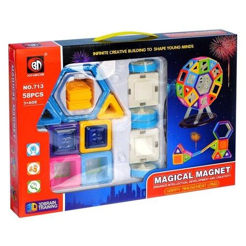 Магнитный конструктор Xinbida Magical Magnet 713-58